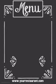 customizable design templates for border postermywall