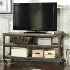 Rustic Tv Console Table Rustic Tv Console Tables Home Galena Industrial Modern Rustic Iron