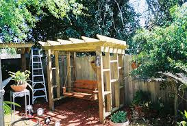 46 couch swing pergola u2013 the deck builder