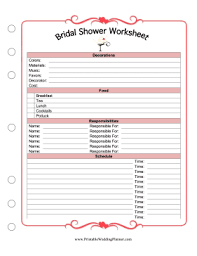 bridal shower planner the of honor can plan a s bridal shower and delegate