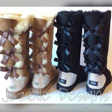 ugg boots australia sale genuine swarovski uggs 3 bow bailey bow ugg boots authentic