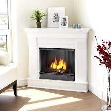 real flame 5950 chateau corner indoor gel fireplace
