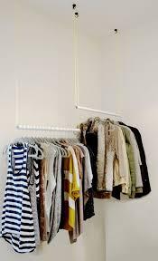 best 25 hanging closet ideas on pinterest hanging clothes diy