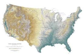 map us idaho idaho elevation tints map beautiful artistic maps