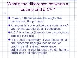 whats a cv how to write a winning resume