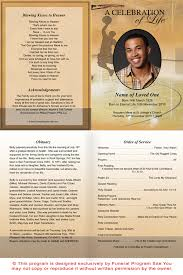 funeral programs order of service basketball funeral program template theme basketball funeral