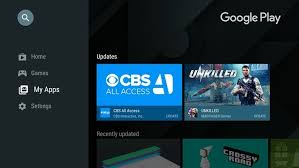 play store android redesigned play store for android tv enables easier