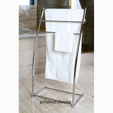 Floor Towel Racks For Bathrooms by Floor Stand Steel Towel Rack
