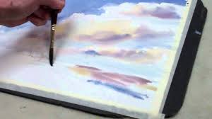 how to paint a watercolor sky with clouds u2014 the art league