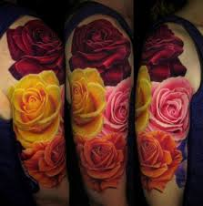 color pictures of roses differently colored roses