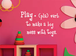 play definition wall decal playroom wall art childrens zoom