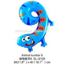 happy new year balloon happy new year merry christmas number 9 gecko shape foil balloon