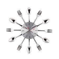 Horloge Cuisine Rouge by Pendule De Cuisine Design Horloges Horloge Design Verre
