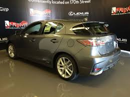 lexus ct200h canada pre owned 2016 lexus ct 200h demo unit touring package 4 door
