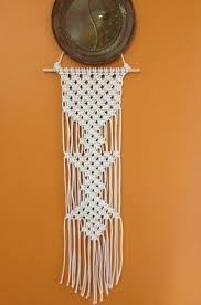 Macrame Home Decor by Macrame Wall Hanging Handcrafted Macrame Art Macrame