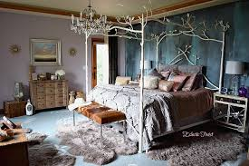 Forest Canopy Bed Diy Wood Ceiling U2013 An Eclectic Twist