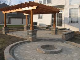 Fire Pit Gazebo by Really Nice Patio With Pergola And Fire Pit Kb Home Austin