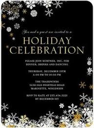 sparkling bursts make this holiday party invitation a winner