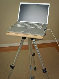 tripod laptop stand 8 steps with pictures