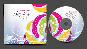 abstract of cd cover vector set 07 vector cover free download
