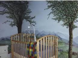 Outdoor Themed Baby Room - baby room murals nursery focal pointsbabynurseryideaphotos com