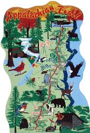New York Appalachian Trail Map by Best 25 Appalachian Trail Map Ideas On Pinterest Appalachian