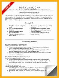 Sample Nursing Assistant Resume by Sample Certified Nursing Assistant Resume Cover Letter For