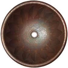 Kitchen Sink Spanish - spanish round copper bathroom sink u2013 custom copper