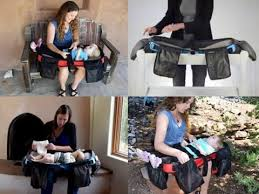 portable diaper changing table lifechanger diaper bag and portable changing station by anna eve