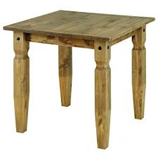 Corona Waxed Pine Small Dining Table Amazoncouk Kitchen  Home - Small pine kitchen table