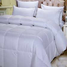 dobby white down alternative comforter ultra warm winter weight