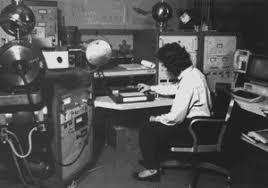 Photograph of technician at work USGS