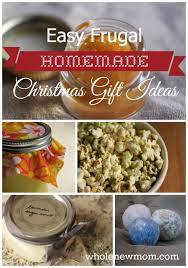 easy frugal gifts