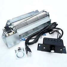 fireplace fan kit shop gfk 160a temperature controlled 180 cfm