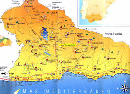Map Of Southern Spain Map Of Spain Pictures And Information