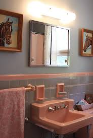 retro pink bathroom ideas 155 best interiors bathroom images on 1950s bathroom
