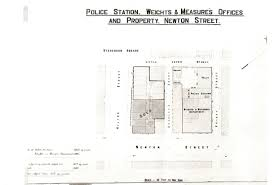 newton st ps city victorian police stations