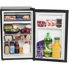 arctic king 2 6 cu ft 1 door compact refrigerator black walmart com