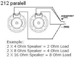 8ohm 2x12 u003d 2 16 ohm speakers