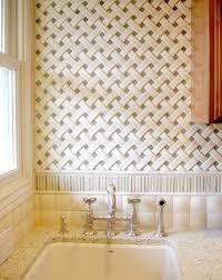 encore ceramics crescendo basketweave mosaic tile with ripple