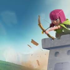 clash of clans wallpaper 23 clash of clans ios and android mobile strategy war game download