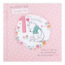 daughter u0027s 1st birthday card 1 today little u0026 bear playing