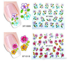 water transfer sticker nail art decals nails wraps temporary