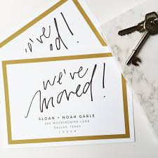 30 best new address cards images on moving
