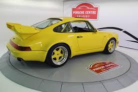 Porsche Macan Yellow - pre owned 1986 porsche 930 ruf btr iii