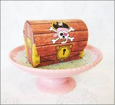Treasure Chest Favors by Favors Treasure Chest Pink Pirate