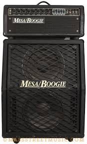 vintage fender 2x12 cabinet mesa boogie mark iii head and 2x12 cab black very good condition