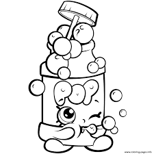 season 7 funny shopkins pops bubble blower coloring pages printable