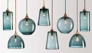 lighting design ideas mini multi colored glass pendant lights