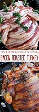 thanksgiving recipe smoky paprika bacon roasted turkey cooking
